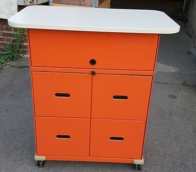 Vitra Rollcontainer Stehpult Mobile Elements Ad Hoc   Sehr gepflegt