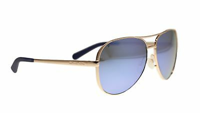 Michael Kors MK5004 Chelsea Polarized Sunglasses Rose Gold w/Purple Mirror (1...