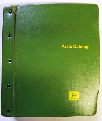 John Deere 520-530-620-630-720-730 Seri Tractors Parts Manuals In Factory Binder