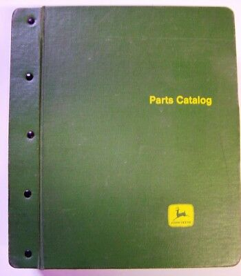 John Deere Models A-AR-B-BR-D-G Tractors Parts Manuals In Factory Binder