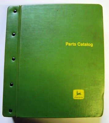 John Deere 40-420-430 Series and 820 Tractors Parts Manuals In Factory Binder