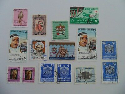 L2049 - Collection Of Mixed Middle East Stamps
