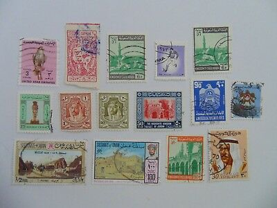 L2050 - Collection Of Mixed Middle East Stamps