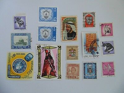L2055 - Collection Of Mixed Middle East Stamps