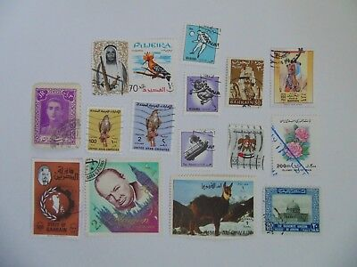 L2056 - Collection Of Mixed Middle East Stamps