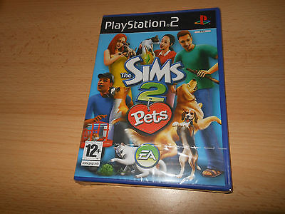 The Sims 2: Pets (PS2) - New Sealed pal version