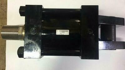 """Parker 3H Series Heavy Duty Hydraulic Cylinder 8"""" Bore Cap Fixed Clevis *New*"""