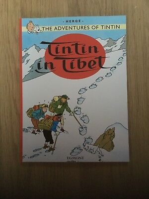 TINTIN IN TIBET (THE ADVENTURES OF TINTIN), Hergé Paperback Book