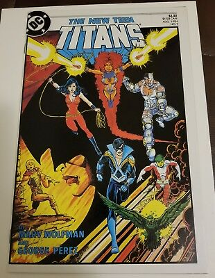 The New Teen Titans #1 (1984) HIGH GRADE NM- Cgc it ? George perez KEY HOT look