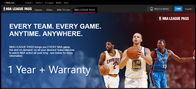 NBA League Pass offers NBA League Pass Promo Code - Get 25% savings on any purchase online. Take advantage of this great chance to purchase their high quality products and save your money. Some exclusions and restrictions may apply, see resmacabse.gq for details.