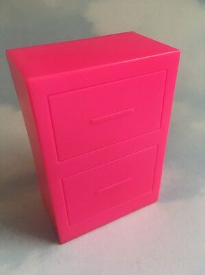 Jem and the Holograms STAR STAGE FILE CABINET replacement part vintage Hasbro