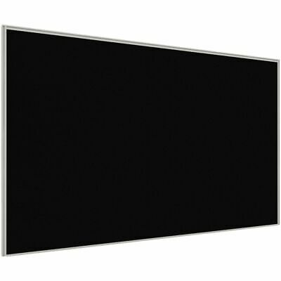 Stilford Professional Screen 1800 x 1250mm White and Black