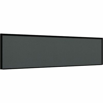 Stilford Professional Screen 1500 x 450mm Black and Grey