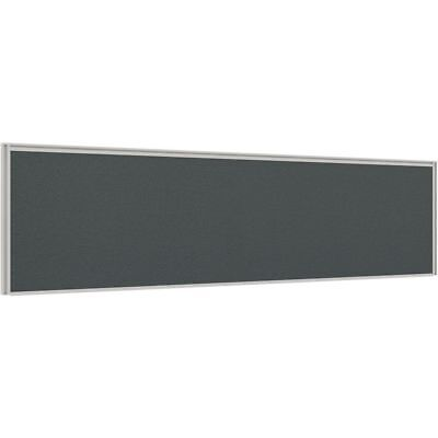Stilford Professional Screen 1500 x 450mm White and Grey