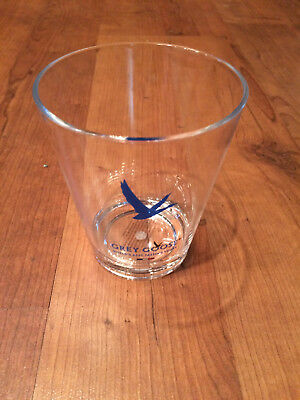 Grey Goose 12 ounce Acrylic Clear Drinking Glass With Grey Goose Logo (2 PACK)