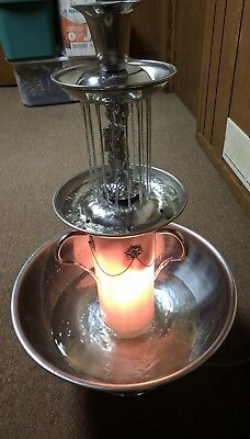 San Marino 5 Gallon Stainless Steel Champagne Fountain (LOCAL PICKUP ONLY)