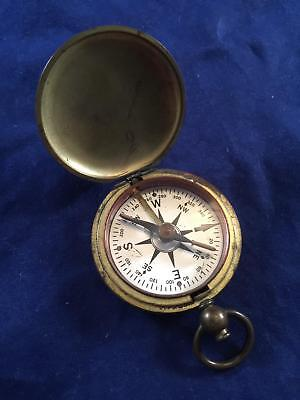 Vintage Military Brass Compass U.S.C.E. US Corps of Engineers