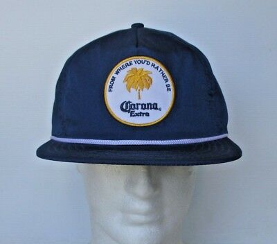 Corona Extra Beer brand new with tags adjustable back blue Rhythm hat cap