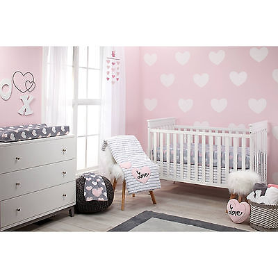 Little Love by NoJo  4 Piece Comforter Set, Hugs and Kisses