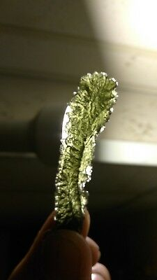 10.5 Gram Angel Chime Moldavite museum tektite no damage