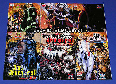 2005 X-Men Age of Apocalypse 1 2 3 4 5 6 Complete Run 1 6 First Prints Marvel