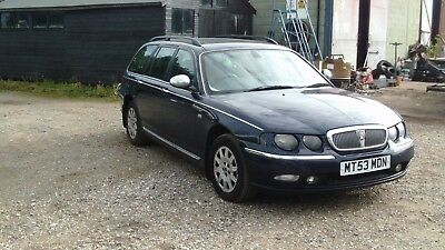 Rover 75 Connoisseur 2.0 Se Cdt Diesel Touring Estate Car Spares Or Repair Bmw