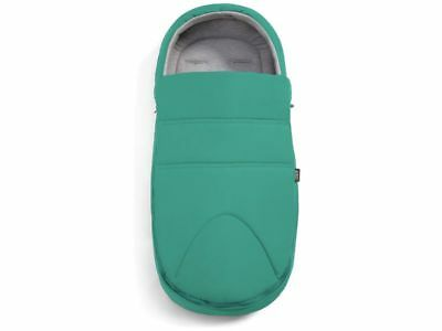 NEW Mamas and Papas Petrol Teal Tide Newborn Cocoon Universal Footmuff Cosytoes