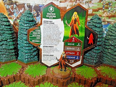 Sharwin Wildborn Heroscape Champions of the Forgotten Realms Wave 11/D1