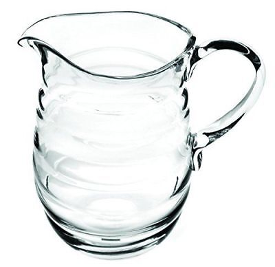 Portmeirion Sophie Conran Large Crystal Clear Glass Water Wine Pitcher Jug