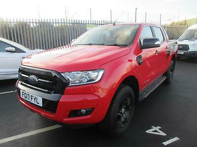 2017 Ford Ranger 2.2TDCi Diesel (160PS) 4x4 Auto Double Cab Limited Pick Up