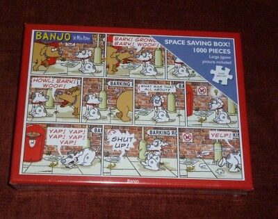 Banjo By Mike Payne -1000 Piece Jigsaw