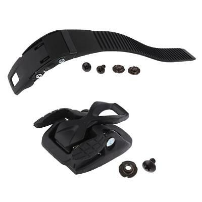 1 Piece Inline Roller Skate Strap and 1 Piece Spider Buckle Clasp with Screw