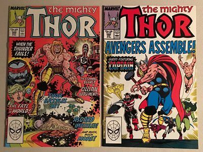 THOR 389-402 VF/NM or better 14 comic lot