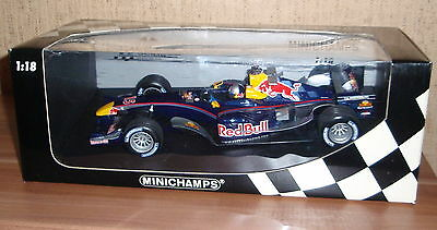 Red Bull Racing Cosworth RB1 1:18 Christian Klien 2005 # 15 Minichamps 100050015