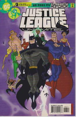 RAR -- JUSTICE LEAGUE UNLIMITED #6 - 2005 - Z 1(+) -- US DC -- as seen on TV