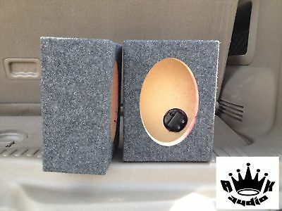 "4""x6"" Speaker Box 4"" x 6"" Hole Cutout 4 x 6 Coaxial Car Speaker Box Enclosure"