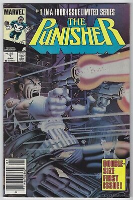Punisher #1 (1986, Marvel) 1st Series, Steven Grant, Mike Zeck, Beatty, F/F+