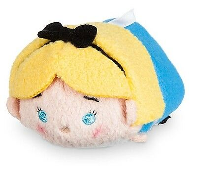 "Disney Tsum Tsum 3.5"" Mini Alice In Wonderland Authentic Plush Usa Nwt New Tags"
