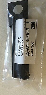 3M EPX Epoxy Plus II Applicator Plunger 2:1 Scotch-Weld Duo-Pack