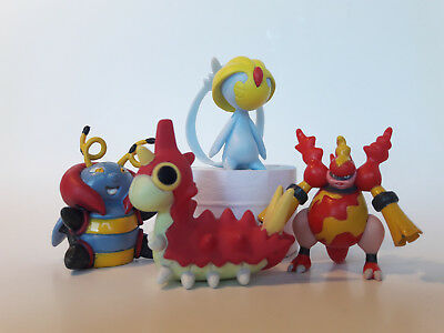 Pokemon Set 3, Selfe, Magbrant, Volbeat, Waumpel