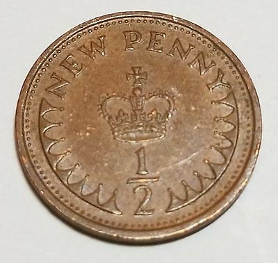 1971 1/2 New Penny Great Britain/UK Coin