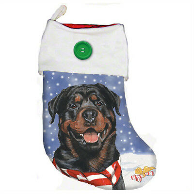 Rottweiler Christmas Stocking