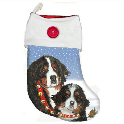 Bernese Mountian Dog Christmas Stocking