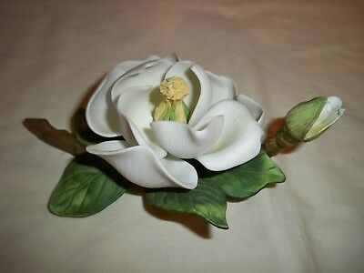 "Avon 1986 Seasons in Bloom Porcelain Flower Collection ""Magnolia"""