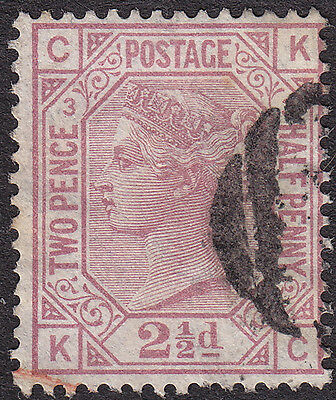 Great Britain SG141 Plate 3 used