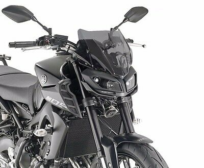 Givi A2132 WINDSCREEN Yamaha MT-09 2017 smoked specific MT09 Fly SCREEN mt 09