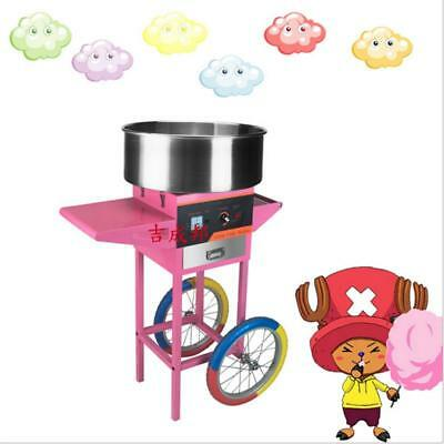 Vertical Push Commercial Cotton Candy Machine, Electric Drawing Vertical Cotton