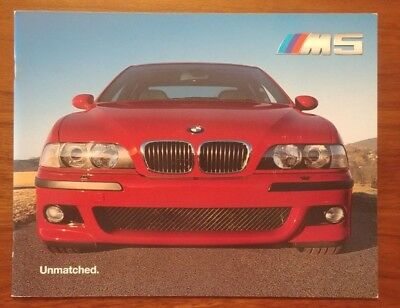 Bmw M5 E39 Magazine Articles Collection Collectible  Clippings  Ad Lot 104