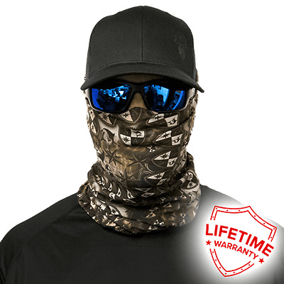 MOTORCYCLE FACE MASK - DESIGNER CAMO DREGS - (Moto, Hunting, Fishing, Paintball)
