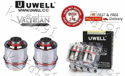 100% GENUINE UWELL VALYRIAN COIL HEADS 0.15Ohm Quad Coil Rated 95-120W 1 or 2